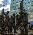Памятник Сталеварам (металлургам). Ижевск. м