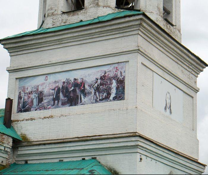 Свято-Никольский храм в с. Данилово, архитектор Дудин С.