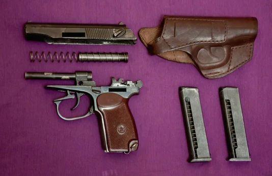 Пистолет газовый ИЖ-79-9Т