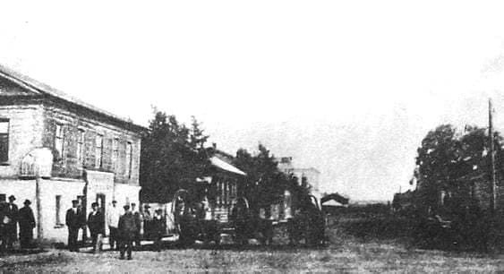 Преображенская улица. Начало XX в. Глазов.