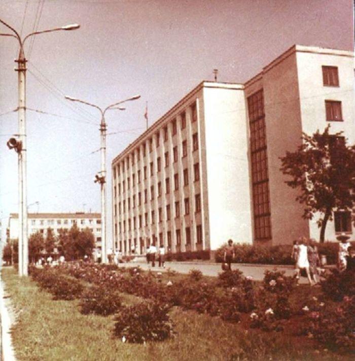Дом правительства. Ижевск.