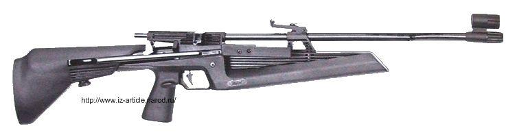 Пневматическая винтовка ИЖ-61.
