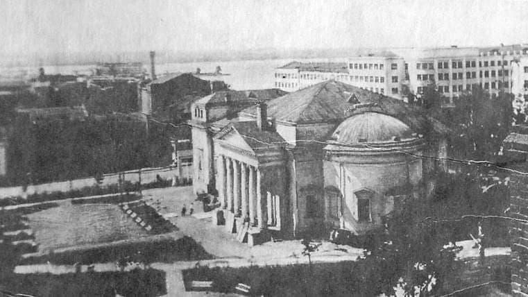 Кинотеатр Колосс .1939 г. Ижевск.