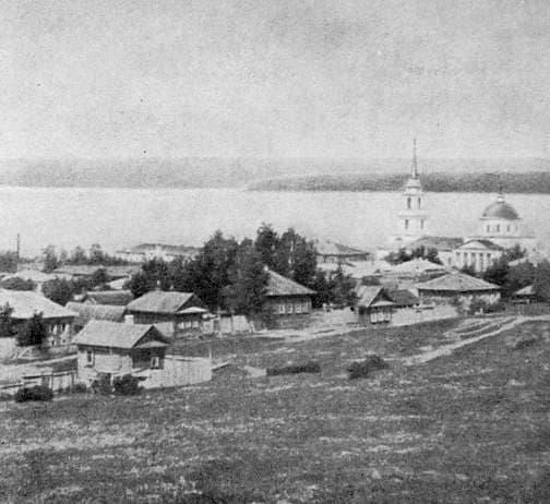 Благовещенский храм. Воткинск. Воткинский пруд.