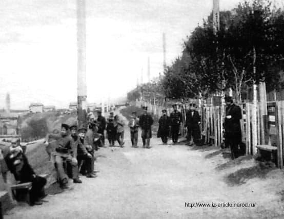 Набережная Ижевского пруда. Улица Береговая.