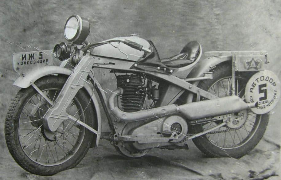 Мотоцикл Иж - 5. Фото НМУР.