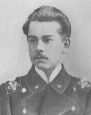 Пустошинцев С.Е. в студенческие годы. 1907 г.