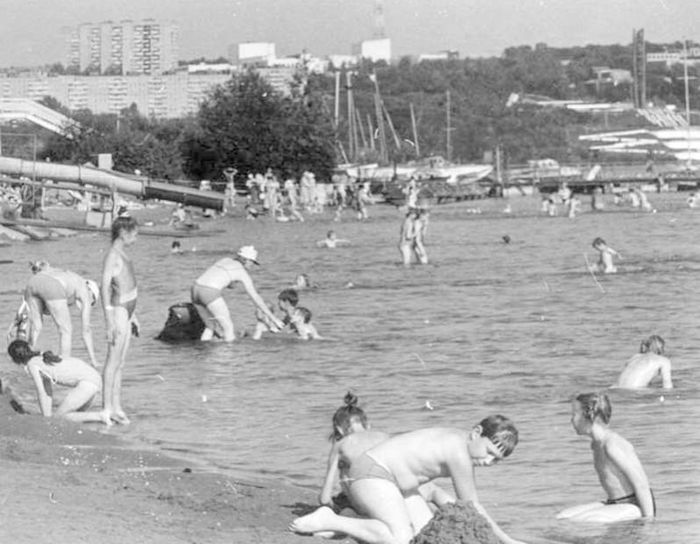 Ижевский пляж.