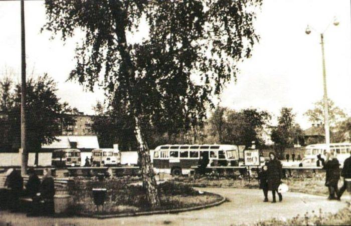 Центральный автовокзал 1969. Ижевск г.