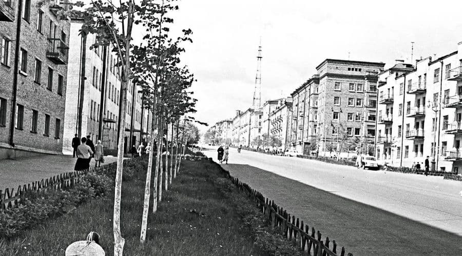 Перекресток улиц Пушкинская и Советская. Ижевск.