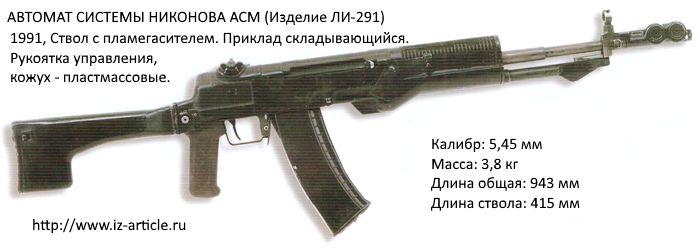 АВТОМАТ СИСТЕМЫ НИКОНОВА АСМ (Изделие ЛИ-291)