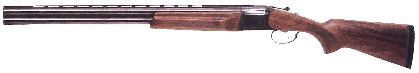 Двуствольное ружье с вертикально расположенными стволами ИЖ-27ЕМ-1С.