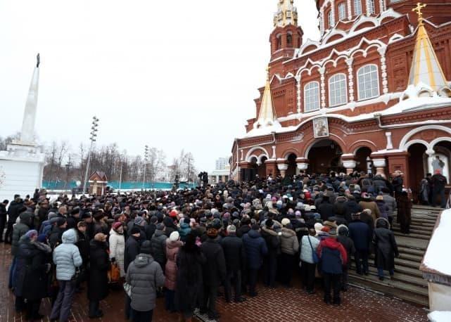 Похороны Калашникова М. 2013 год. Ижевск.