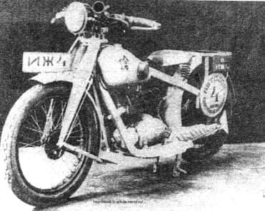 Мотоцикл иж-4