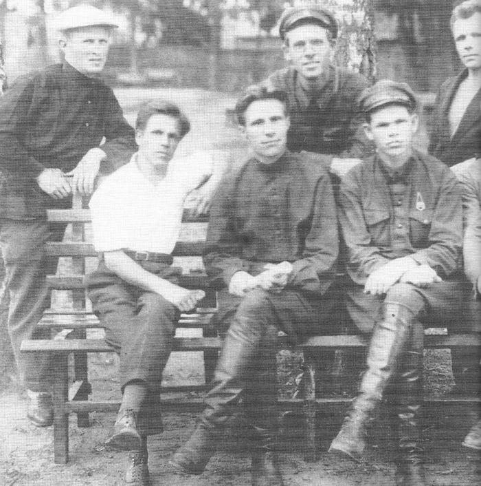Сотрудники Удмуртского отдела ГПУ СССР. 1930 годы.