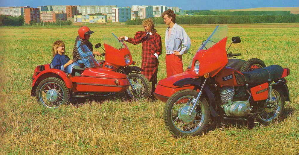 Мотоциклы ИЖ (IZH Motorcycles) 80-е годы. ИЖМАШ.