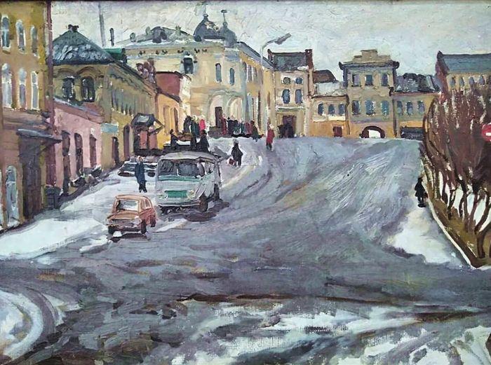 """""""Старый Сарапул"""". В.Б.Юшкова 1978г."""