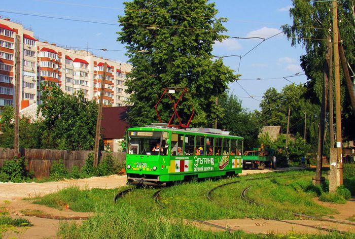 Трамвай №7. Ижевск.
