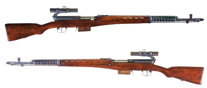 СнСВ (винтовка снайперская самозарядная).