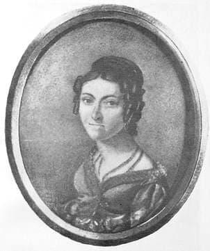 Ассиер Екатерина Михайловна, бабушка Петра Ильича Чайковского.