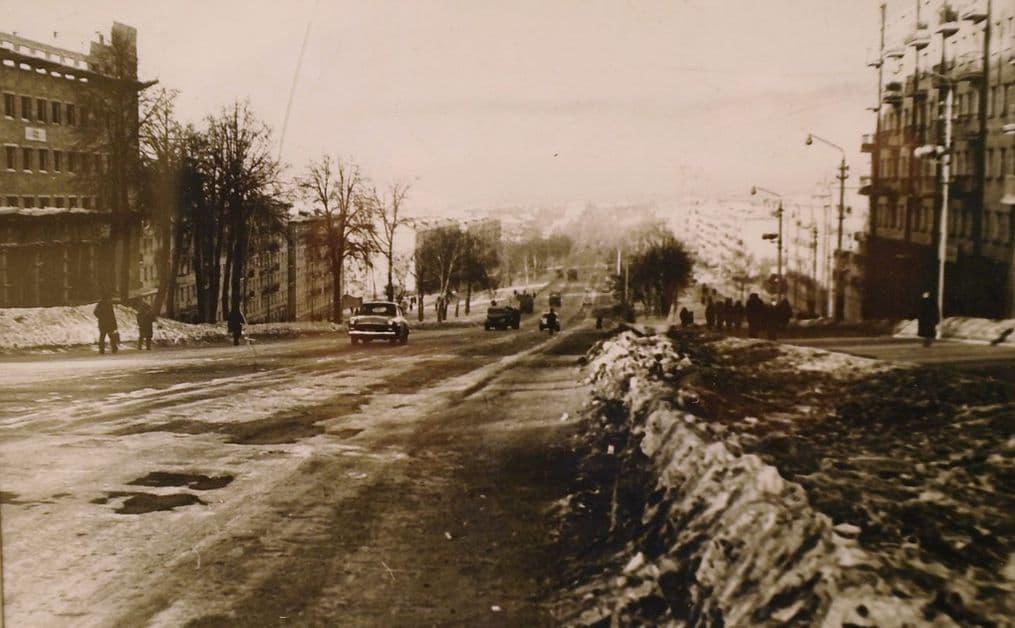 Пушкинская улица. 60-70-ые г. Ижевск.