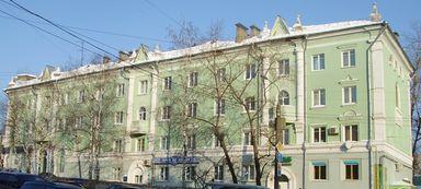 Дом с башенками. Советская 34 Ижевск.