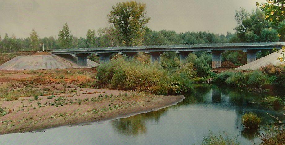 Мост через р. Кырыкмаз.  Киясовский район.