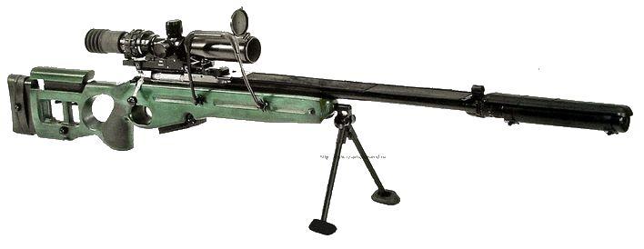Снайперская винтовка  СВ-98, SV98.