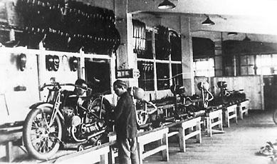 Серийное производство на мотозаводе (ИЖ-7, ИЖ-8, ИЖ-9, ИЖ-12) в период 1933-1940 гг