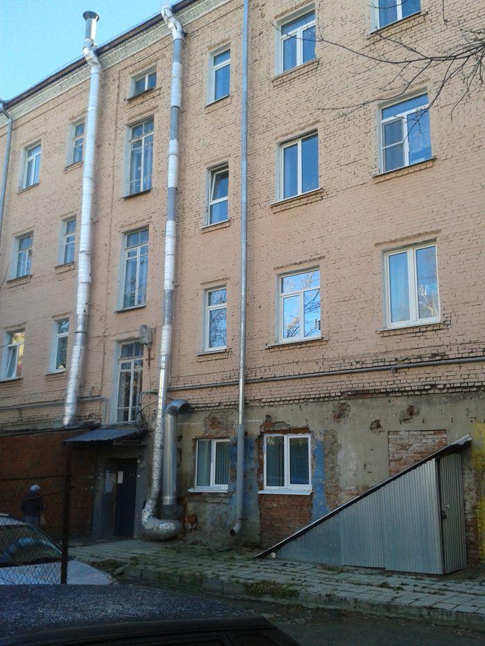 Свободы улица дом 184 со стороны двора. Ижевск. ДВА. Фото 23.10.2020.13:28