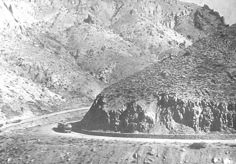 В горах Афганистана у перевала на Гардес.