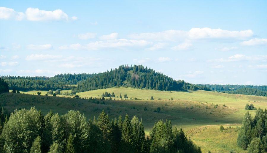 Гора Каргурезь. Удмуртия.