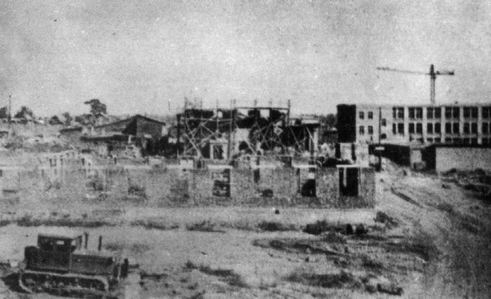"""Строительство предприятия """"Купол"""" 1953—1955"""