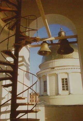 Колокольня собора. Современный Александро-Невский собор, Ижевск.