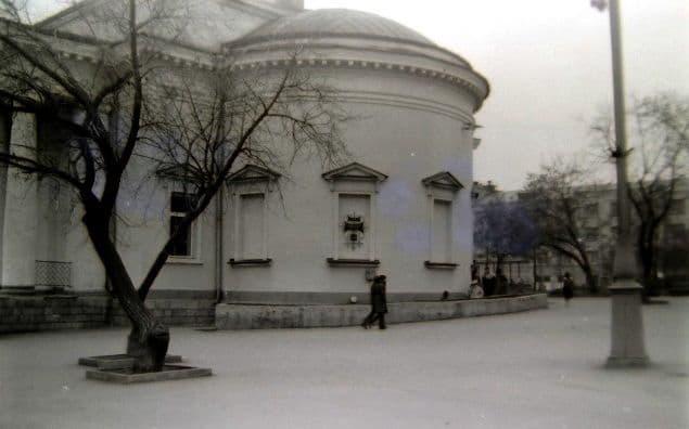 Кафе Колосок, конец 1980-х. Ижевск.