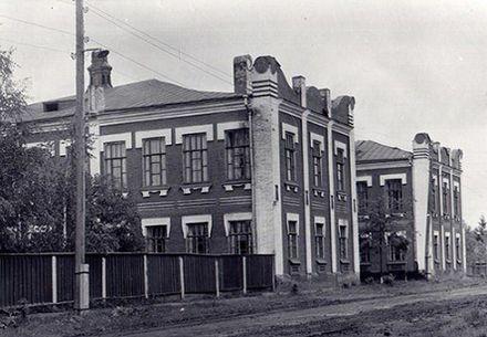 Глазовская мужская гимназия.
