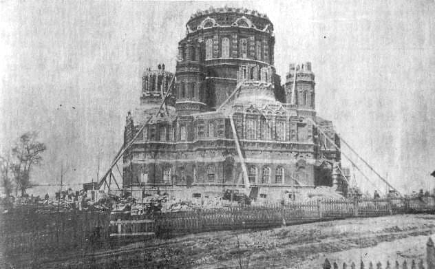 Михайловский собор летом 1937 года. Ижевск