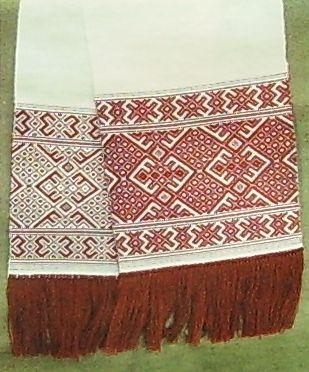 Удмуртский текстиль.