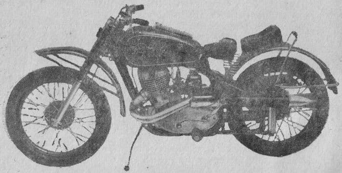 Мотоцикл ИЖ-50Б