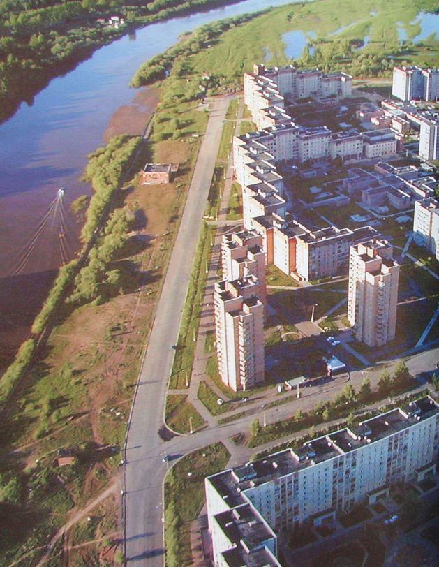 Район Левобережья, фото Зырянова В. Глазов.