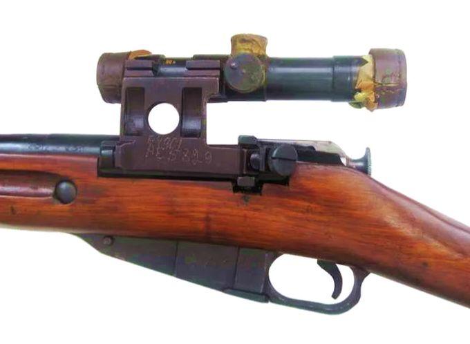 Оптический прицел ПУ-44.