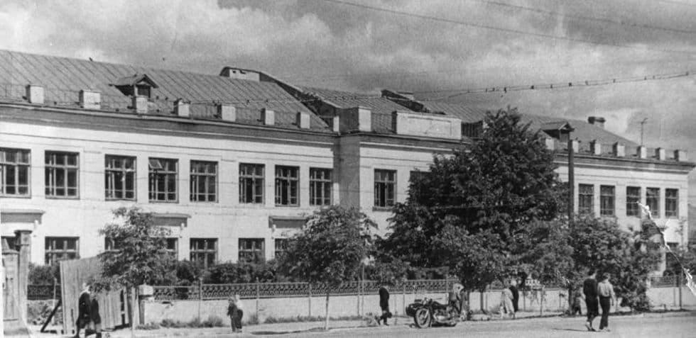 Школа №17. Воткинск. Начало 70-х годов.