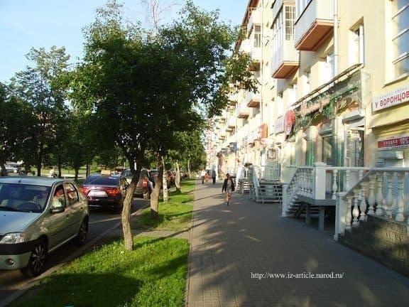 Улица Лихвинцова Ижевск