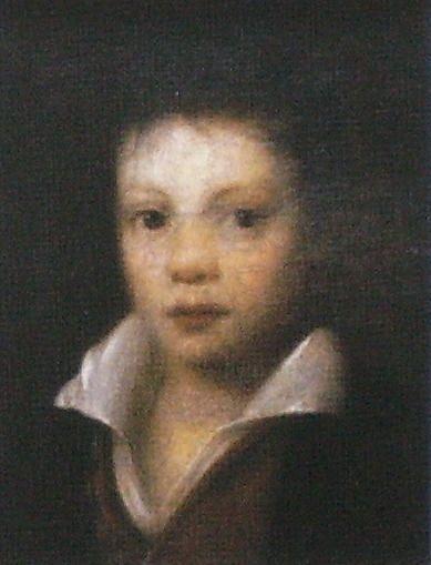 Неизвестный художник. Картина Портрет мальчика. Первая половина XIX века.