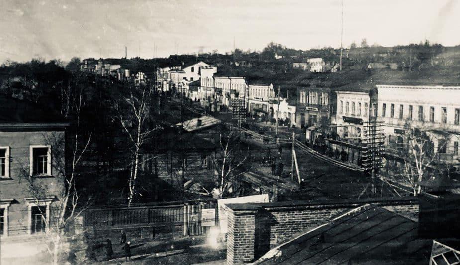 Улица Коммунальная в 1920-е годы. Ижевск.