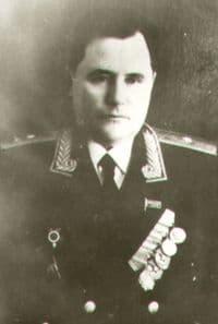 Тепляков Иван Агапович - Генерал-майор.