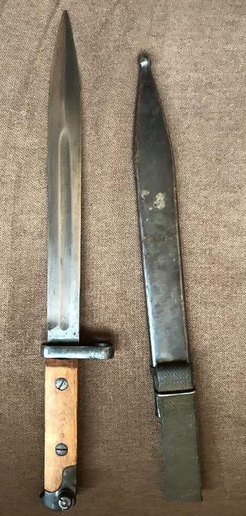 Штык нож СВТ-40, изготовлен в Ижевске.