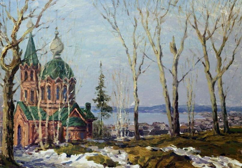 Жарский В.А. - Церковь времён Чайковского, Воткинск.