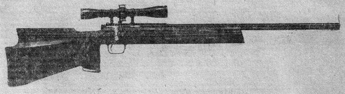 Винтовка спортивная Бегущий кабан-3,  БК-3.