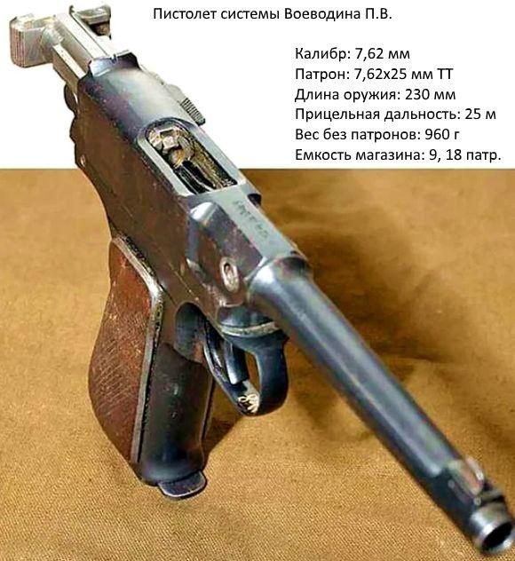 Пистолет Воеводина П.В.